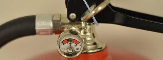 Husk regelmessig kontroll av brannslukningsutstyret
